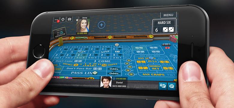 Online casino deposit with bank account