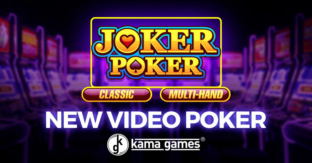 Kamagames Launches Joker Poker