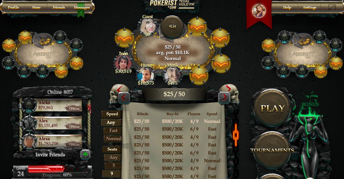Updates to KamaGames Texas Poker on VK